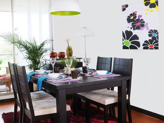 Comedor galeria vive tu casa homecenter pinterest for Comedores homecenter