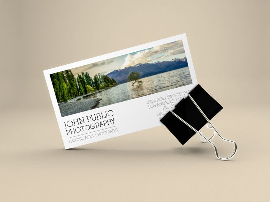Landscape Photographer Business Cards by J32 Design | Business Card ...