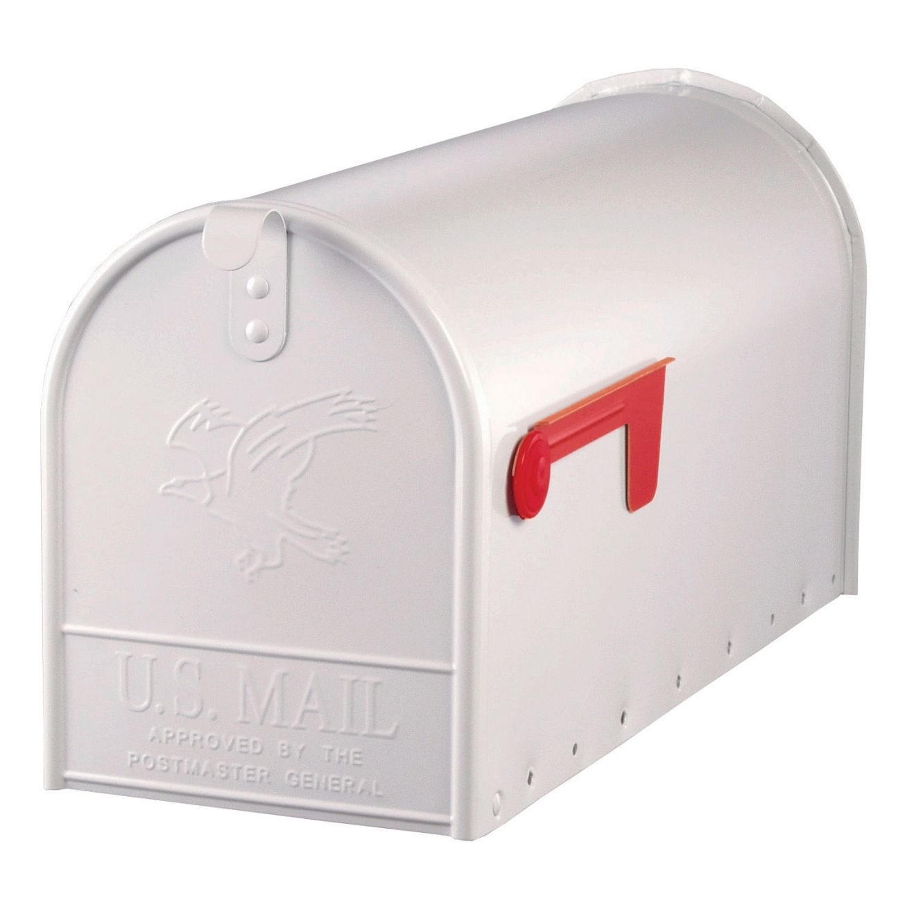 ordinary Ace Hardware Mailbox Post Part - 13: Solar Group White Elite Mailbox Size T2 (E1600W00) - Post Mount Mailboxes - Ace  Hardware