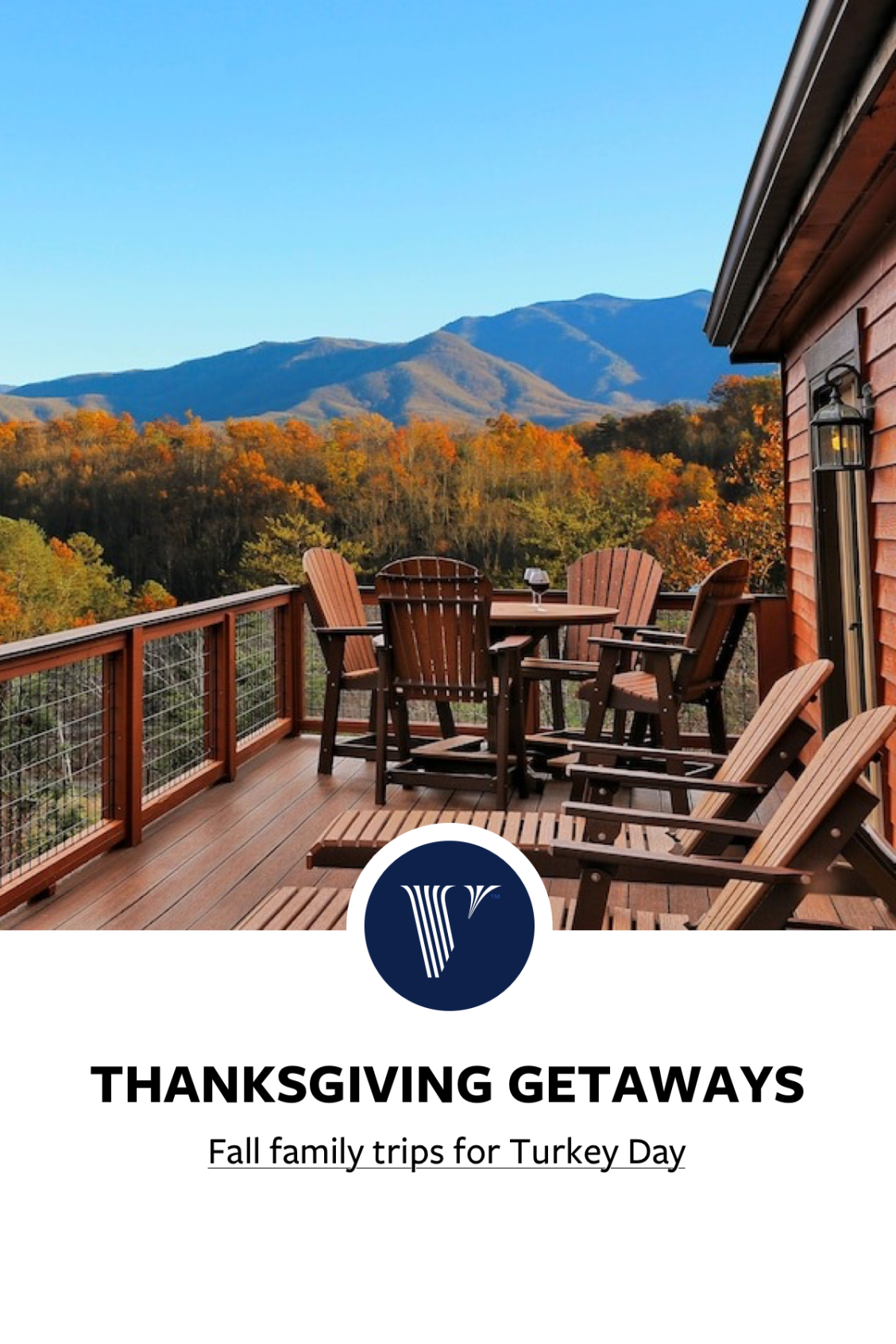 Planning A Family Thanksgiving Getaway Check Out These Fall Vacation Rentals Perfect For A Fall Famil In 2020 Fall Vacations Dream Vacations Color Palette Living Room