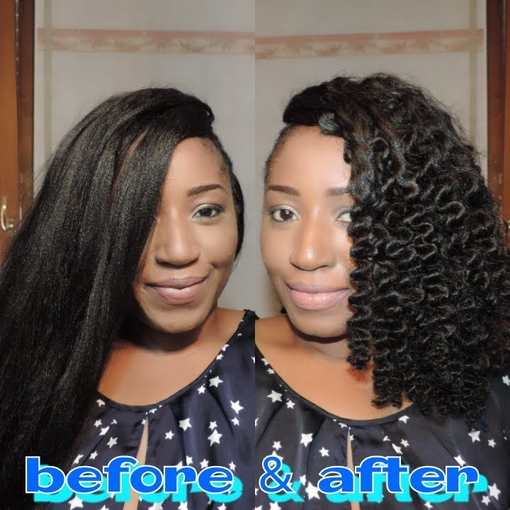 HOW TO CURL SYNTHETIC HAIR, [THREADING METHOD] | MY ... - photo #25