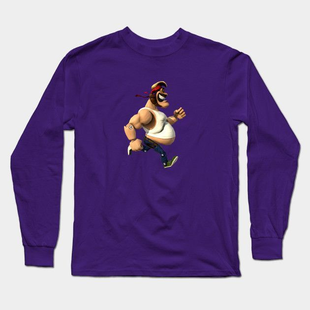 Action Henk! Long Sleeve T-Shirt