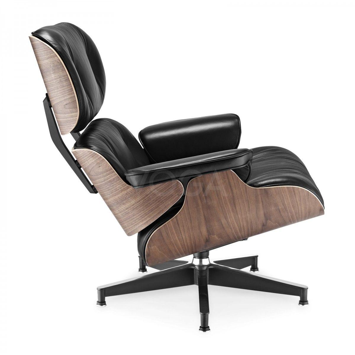Eames lounge chair replica designersessel voga for Design stuhl replik