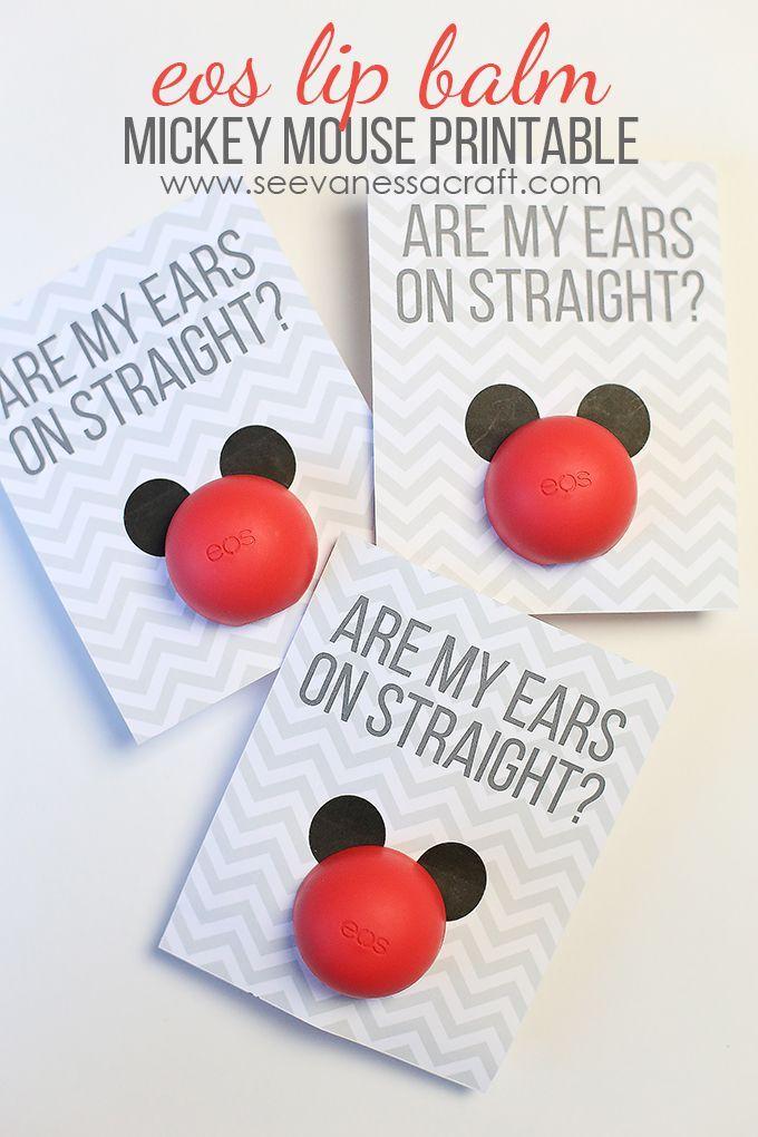 Disney Eos Lip Balm Mickey Mouse Printable Disney Fun Disney