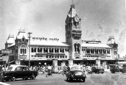 Madras Central Railway Station | Chennai when it was ...