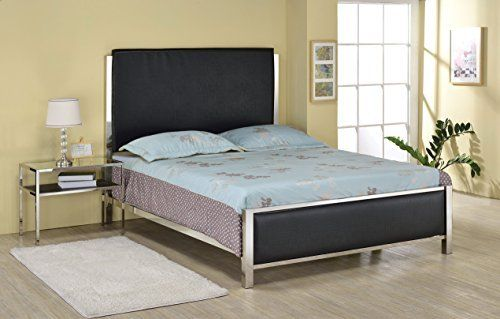 ACME Furniture 25090Q Johanna Bed with Headboard/Footboard/Rail ...