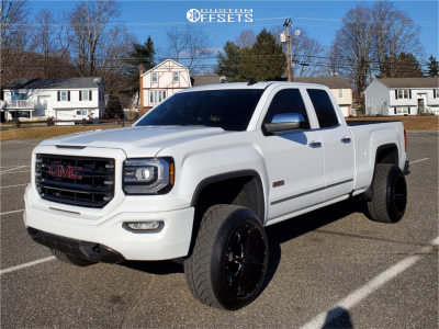 2016 Gmc Sierra 1500 20x14 76mm Xd Xd825 In 2020 Gmc Trucks