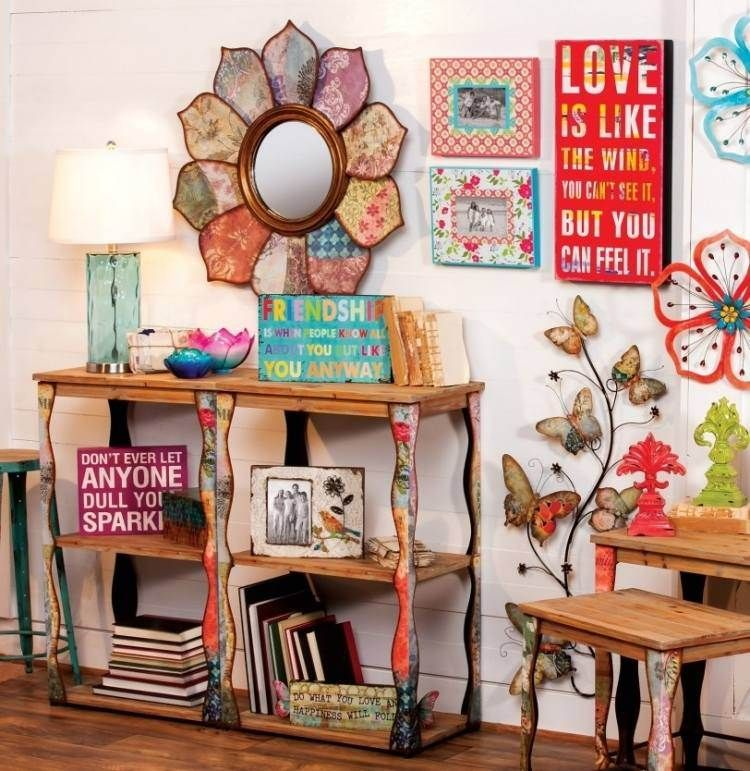 The chic hippie style in the living room – 55 fresh and original ideas
