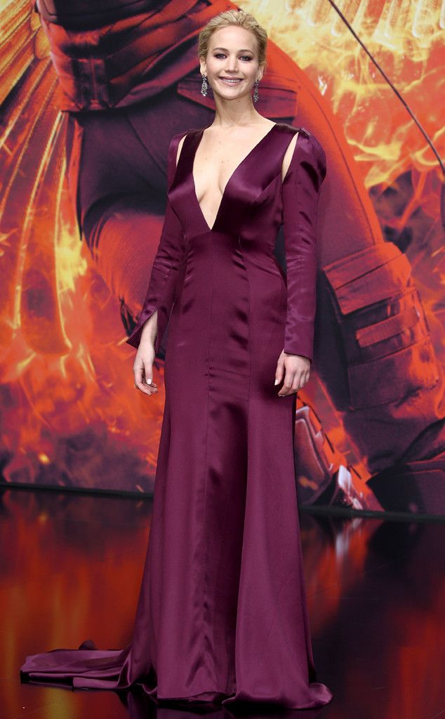 Jennifer Lawrence from The Hunger Games: Mockingjay Part 2 Premieres ...