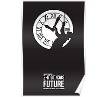 Back to the Future - Doc Brown & the Clock Tower Poster