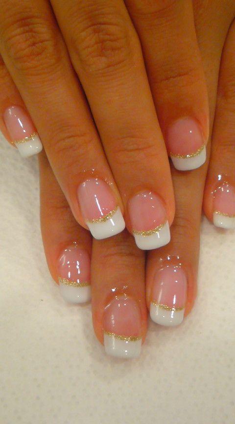 75 Gold Silver White Bling Glitter Wedding Nails