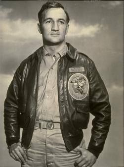 1940 Heisman Trophy winner Tom Harmon enlisted as a pilot in the Army Air Corps on November 8, 1941. Early in 1943, Harmon parachuted into the South American jungle when his plane flew into a tropical storm. None of the other crewmen survived. He was the object of a massive regional search operation once his plane was reported missing. 4 days later, he stumbled into a clearing in Dutch Guiana.     He transferred to single seat fighters. In October 1943, while on an escort…