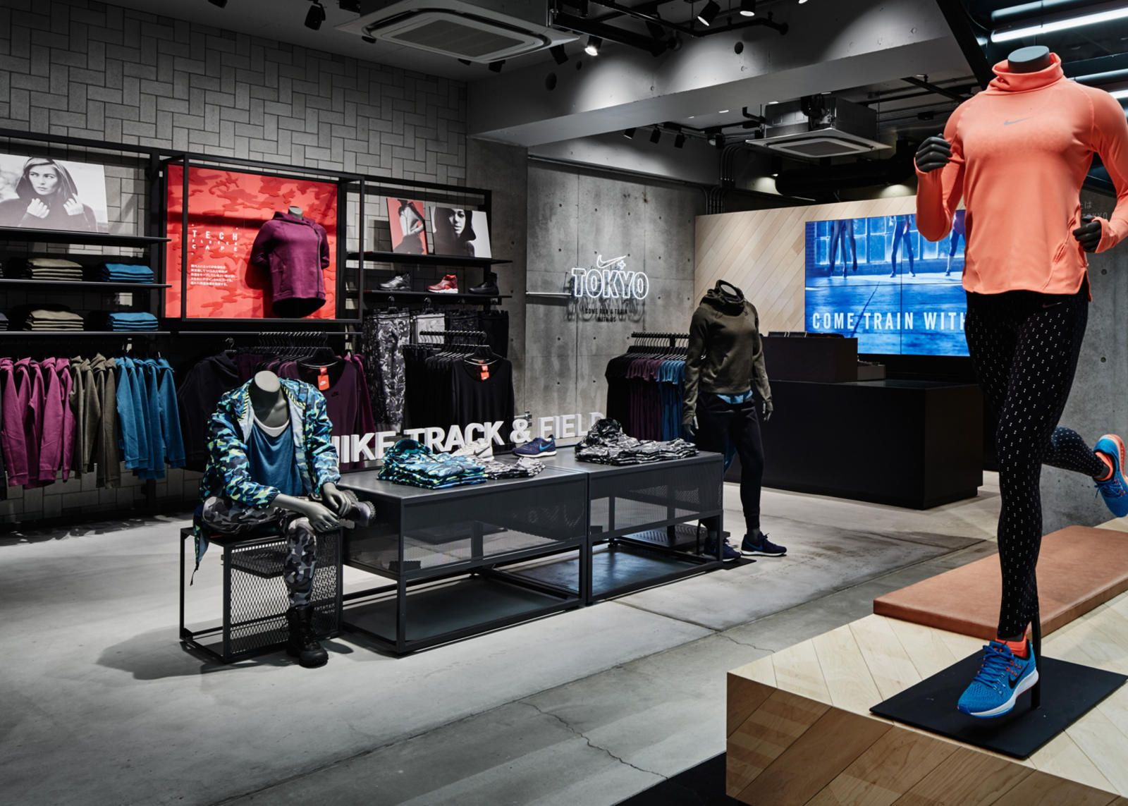 Nike Brings First Running Concept Store to Tokyo | Retail
