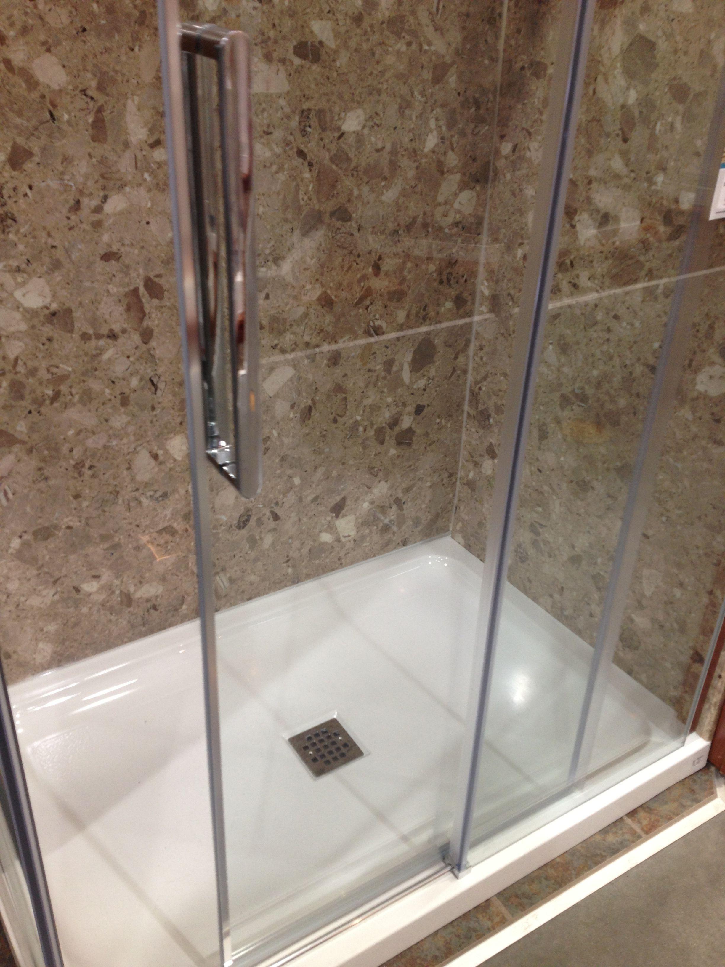 Menards Maxx Shower Stall Bathroom Shower Bath
