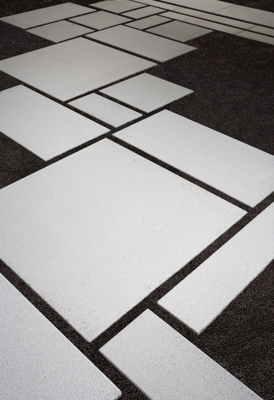 White Concrete Patio Slabs Paving Slabs Diy Patio Pavers Paver Patio