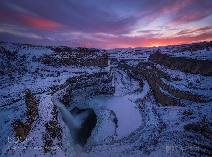 #photography Palouse Falls Winter Sunset by phillips_chip https://t.co/Q8tFka4SRi #followme #photography