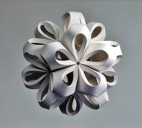 Esculturas abstractas de papel de Richard Sweeney