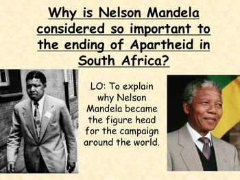 apartheid nelson mandela essay Students learn about and discuss the history of apartheid in south africa, the long struggle against it, and nelson mandela's legacy as a leader in that struggle.