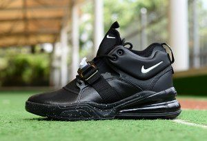 691a87c1217b Nike Air Force 270 Black White Mens Movement Fitness Nike Air Force Ones