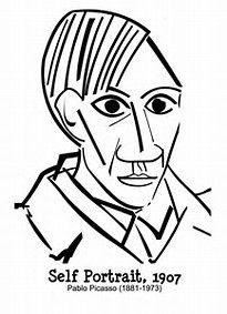Resultado De Imagem Para Imagens De Picasso Para Colorir Arte