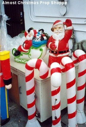 vintage plastic christmas yard decorations google search