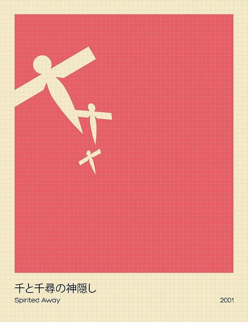 Spirited Away | Minimalist Studio Ghibli posters http ...