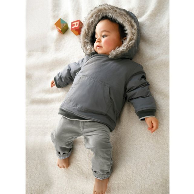 blouson capuche b b gar on cocoon little boo pinterest babies boys and babies clothes. Black Bedroom Furniture Sets. Home Design Ideas
