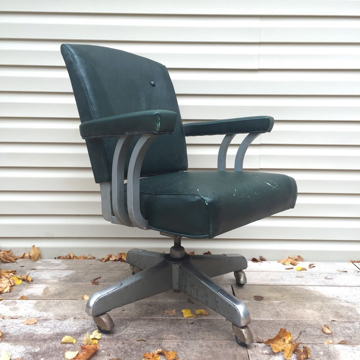 Atomic Age Desk Chair By Steelcase Asburyparkvintage On Etsy Https Www