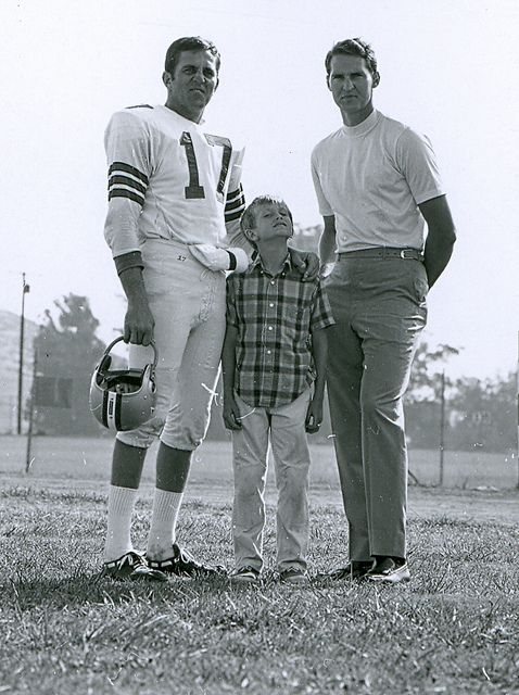 Clc Football Don Meredith Jerry West Football