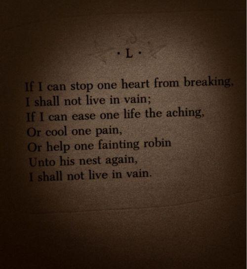 Emilyinson Poem I Aspire To Do The Same