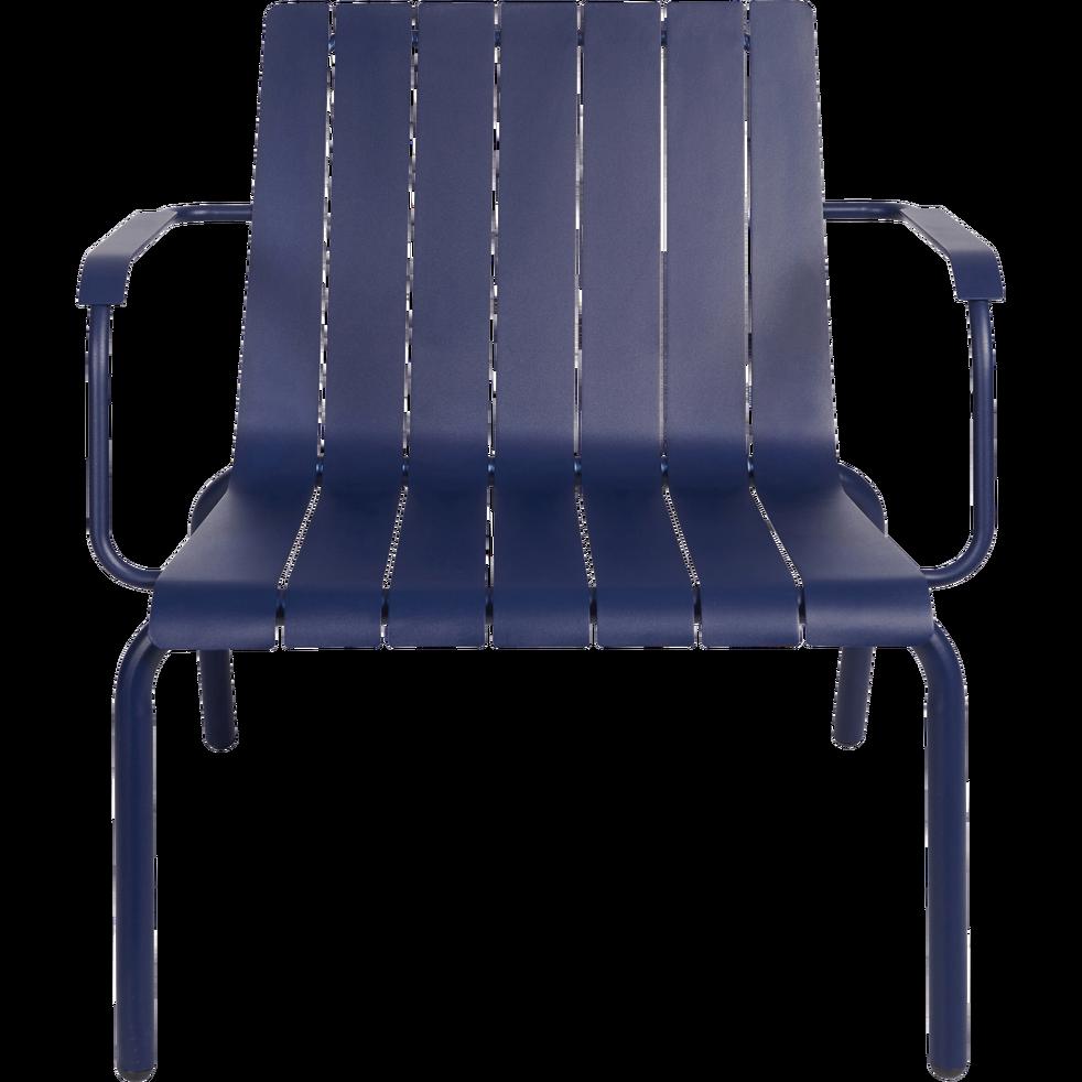 Fauteuil de jardin aluminium bleu indigo-PARADOU | Idées ...