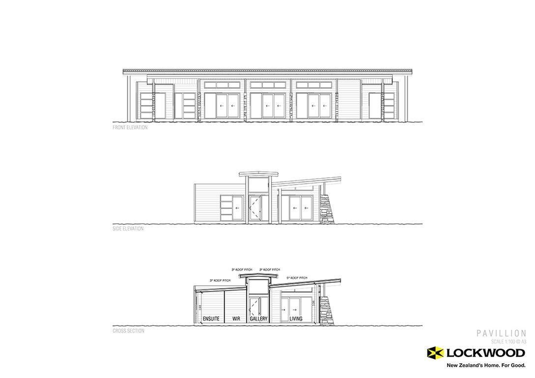 Pavilion House Plans New Zealand House Designs Nz New Zealand Houses House Plans Building Plans House