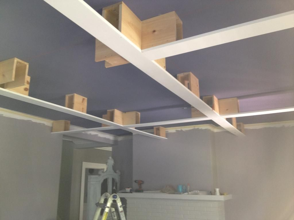 How to build a coffered ceiling - How To Make Coffered Ceilings