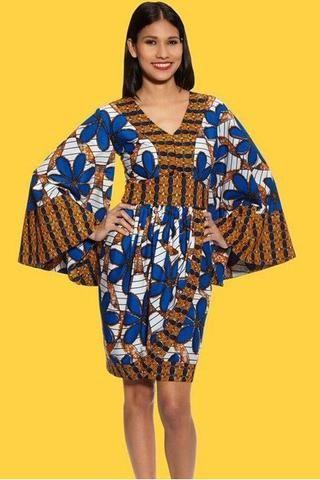Shop Kuwala For The Kimono Drape Dress Melange Pagnepagne