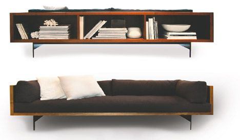 Console couch Domison us Jasper sofa is as handsome as it is useful Soft felt