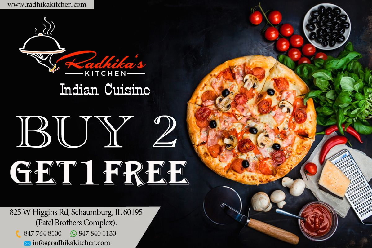 Have your favourite pizza today with our latest offers