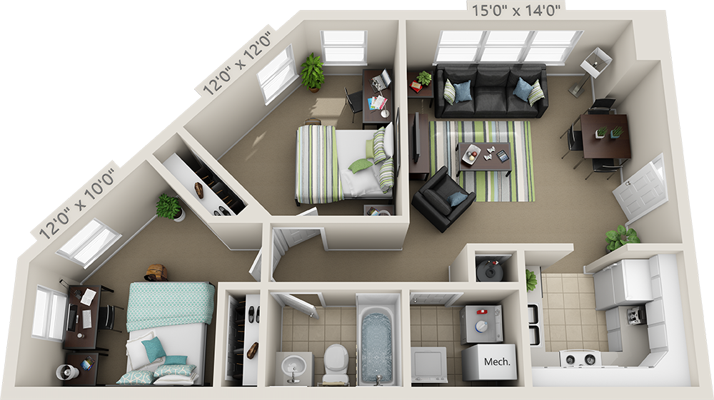 Floor Plans College Park Apartments Floor Plans Sims House Design Sims House