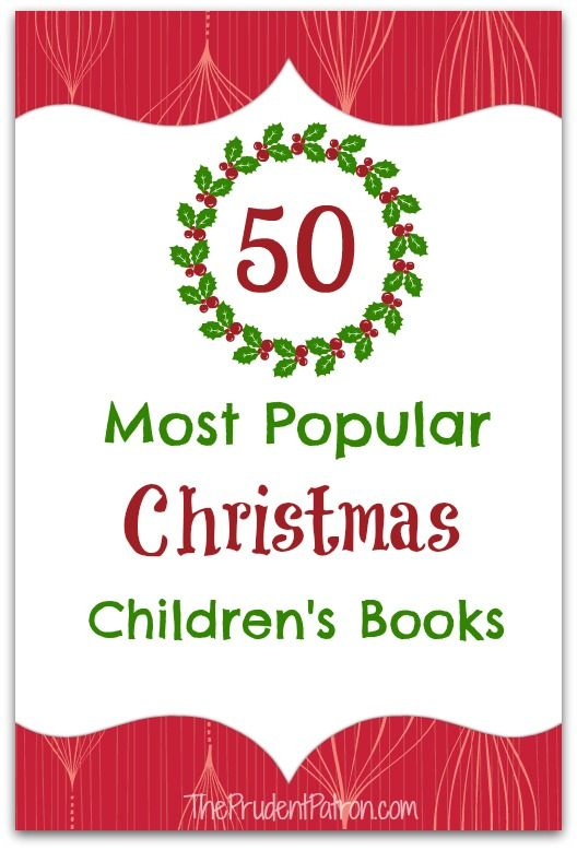 50 Most Popular Christmas Children S Books Top Blogs Pinterest