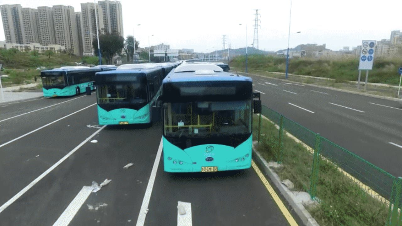 By 2018 Every Bus In This Chinese Megacity Will Be