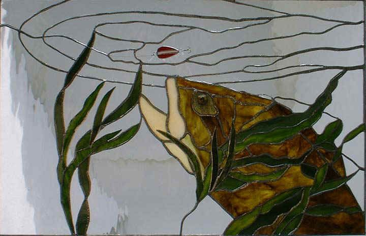 Google image result for for Stained glass fish patterns