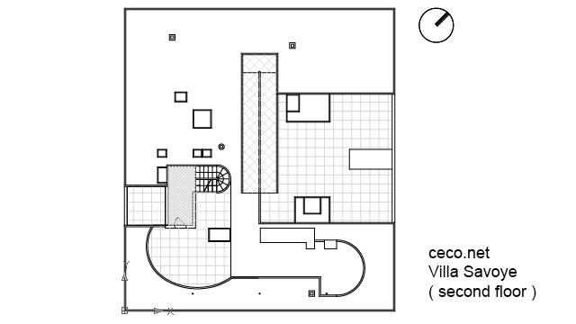 Villa Savoye Le Corbusier Floor Plan Villa Savoye - Le corb...