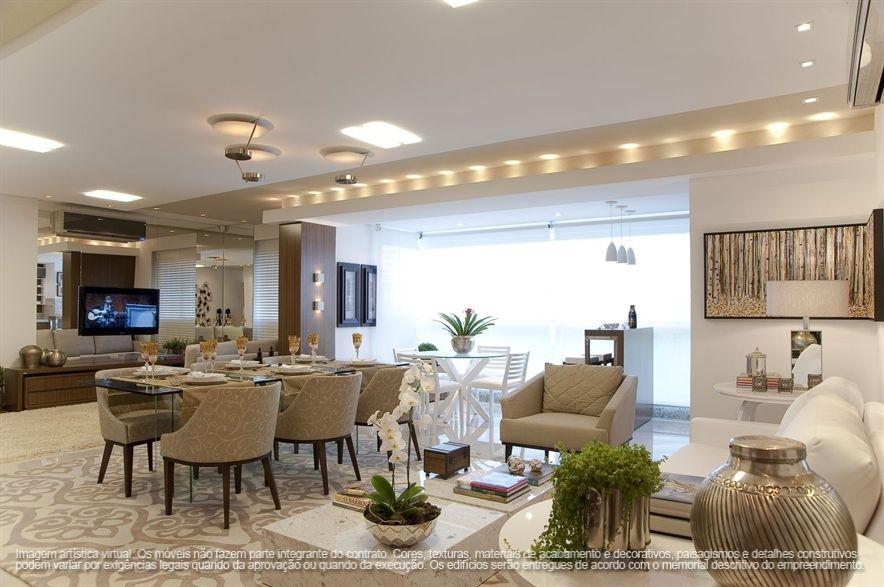 Living Room / Sala / Apartamento Decorado / Home Decor / Bohrer Arquitetura  / Interior Design