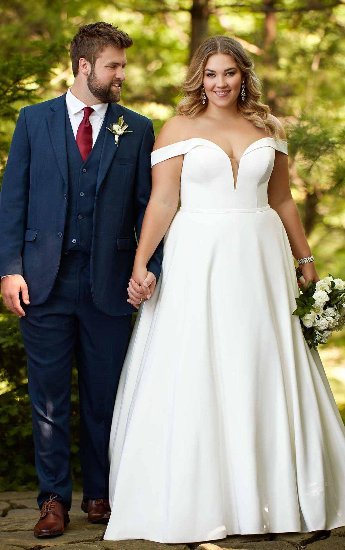 Pin auf Plus Size Brautkleider