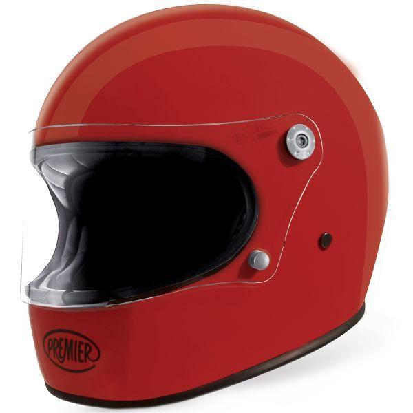 Casque Integral Premier Trophy U2 Red Moto Helmet Full Face