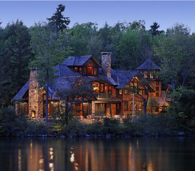 Log Cabin Designs Fryeburg Maine: Beautiful House Design