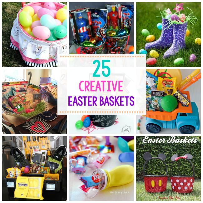 25 great easter basket ideas basket ideas easter and easter baskets 25 great easter basket ideas negle Choice Image