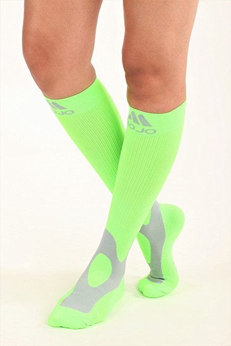 9a9d4f91f5 Amazon.com: Mojo Coolmax Sports Compression Socks for Recovery & Performance  (Medium, Hot Pink) Unisex: Health & Personal Care