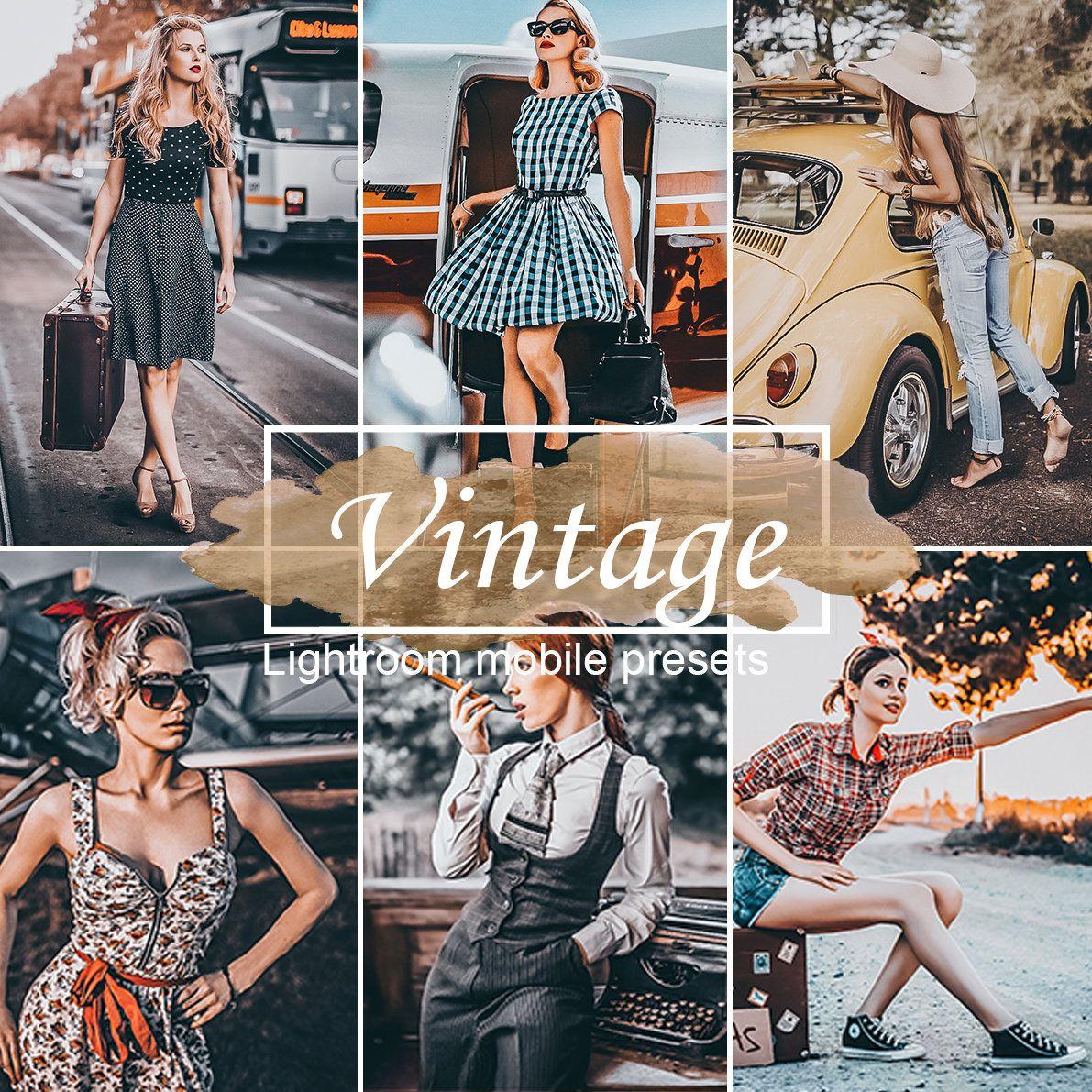 4 Mobile Lightroom Presets Instagram Presets For Retro Photo Blogger Presets Vintage Preset Dng In 2020 Lightroom Presets Lightroom Retro Photo