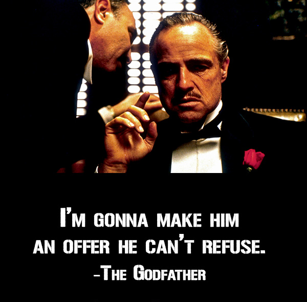 Famous Godfather Quotes Pin by Lavinesh Dayalani on The Godfather | Pinterest | Movie  Famous Godfather Quotes