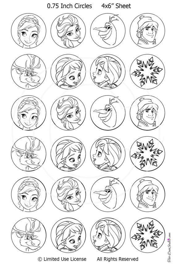 Disney Frozen Christmas Decorate The Tree Coloring By Tahdahstudio Elsa Printables